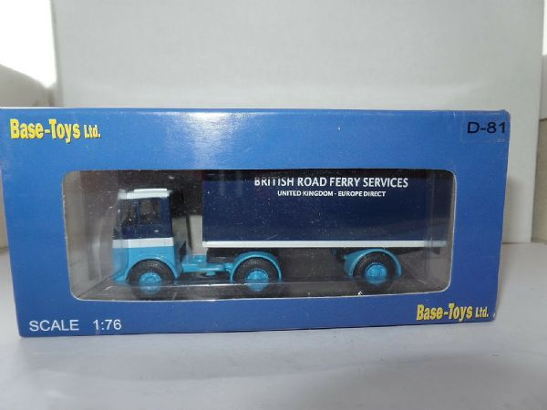 B T Models D-81 D81 Bristol HA Artic Box British Road Ferry Services